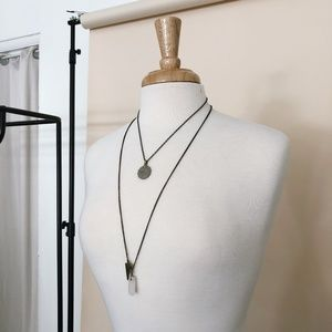 Jewelry - Vintage Stone Necklace Set.
